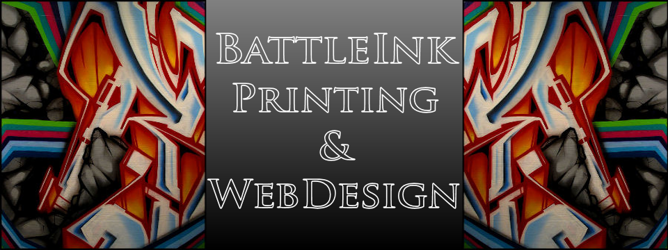 BattleInk Web Design Header Image